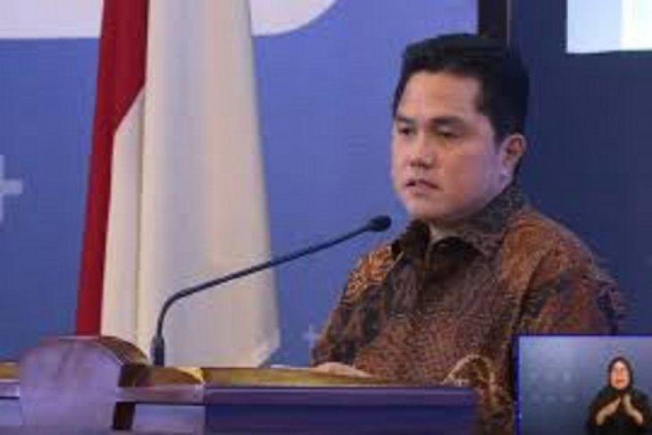 Erick Thohir minta dukungan Menaker terkait bantuan kepada pekerja