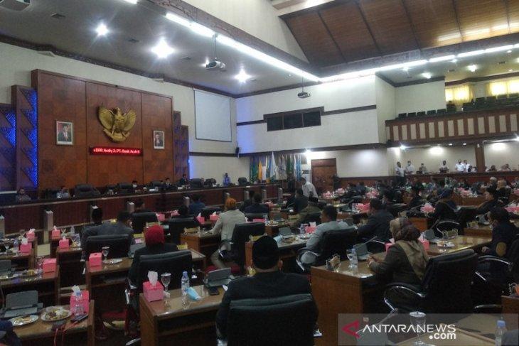 DPR Aceh batalkan nota kesepakatan proyek tahun jamak