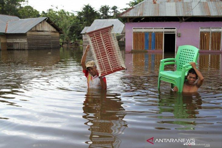 Floods inundate 64 villages in Konawe, SE Sulawesi, displace thousands