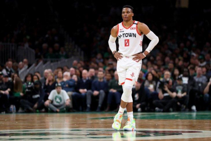 Setelah dikarantina, Westbrook gabung lagi dengan Rockets