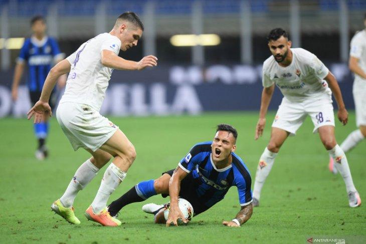 Inter kembali gagal menang setelah ditahan imbang 0-0 oleh Fiorentina