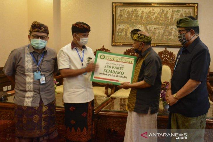 Wagub Bali apresiasi kepedulian perbankan pada seniman di tengah pandemi