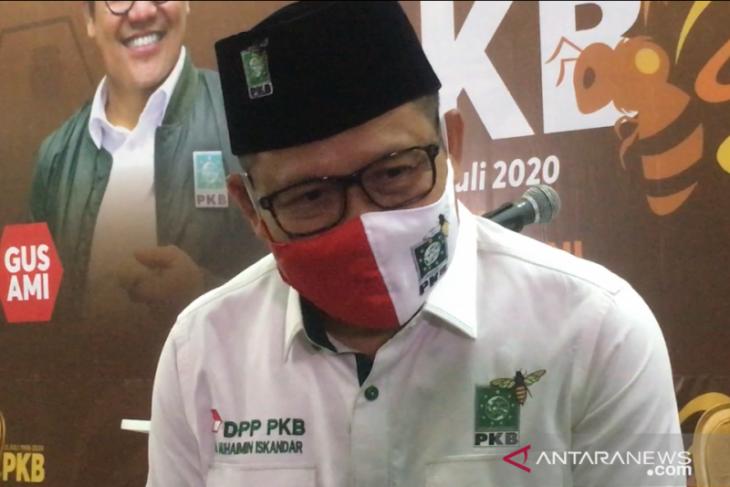 Wakil Ketua DPR RI  Muhaimin Iskandar dimarahi istri karena dana bantuan COVID-19