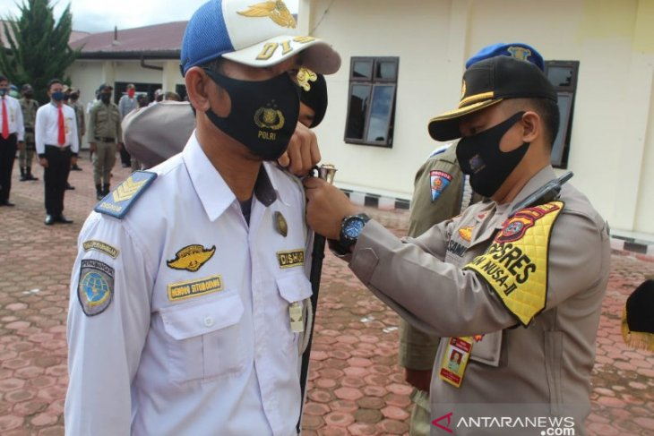 Gelar Operasi Patuh Toba 2020, Polres Taput bidik kepatuhan berlalu lintas hingga pengendara wajib masker