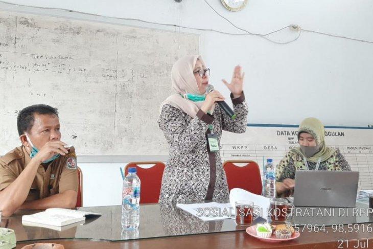 Sosialisasi Kostratani, BPP Medan Krio siap jadi BPP Model Pembangunan Pertanian