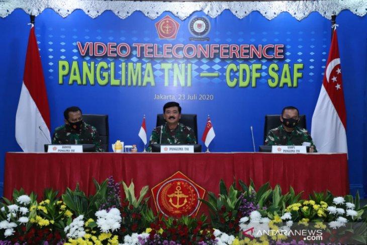 Panglima TNI - Pangab Singapura bahas latihan militer