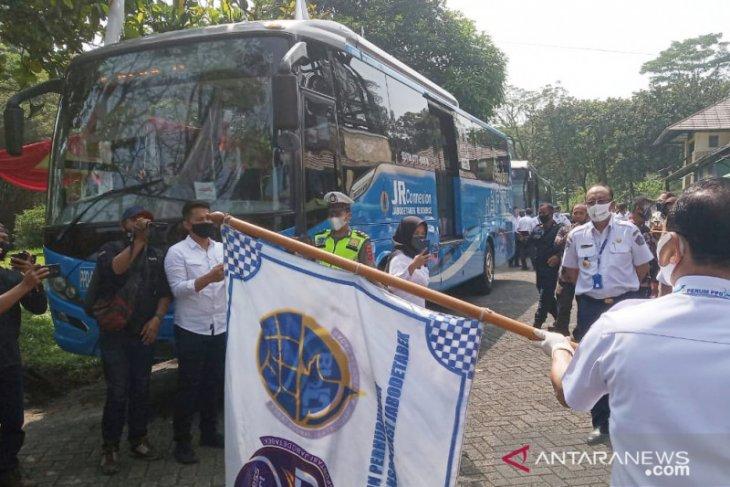 BPTJ uji coba layanan bus JRC jurusan Sentul Bogor - Blok M