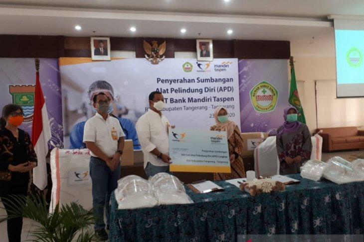 Pasien dirawat di RSUD Kabupaten Tangerang menurun