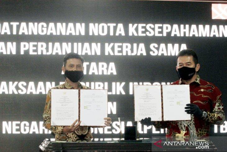 BNI dan Kejagung teken enam kerja sama penguatan kapasitas