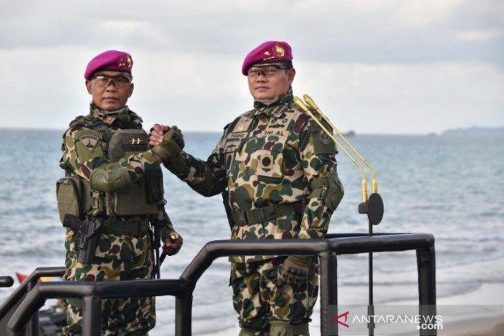 Kasal Laksamana Yudo Margono menjadi warga kehormatan Korps Marinir