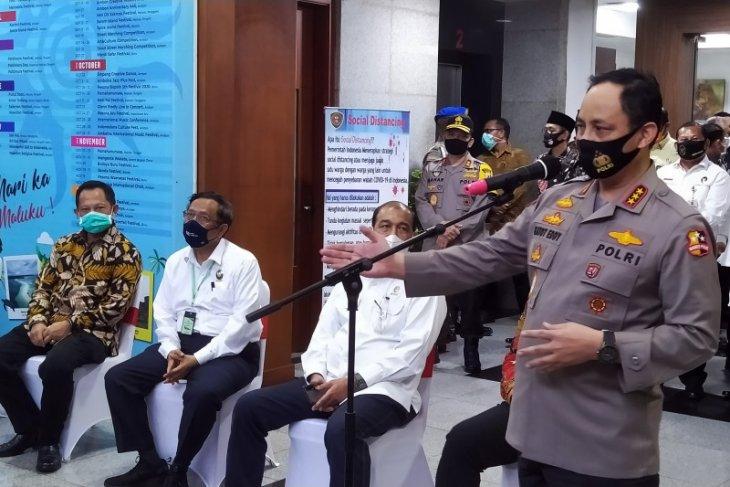 Wakapolri tegaskan netralitas Polri di Pilkada serentak 2020