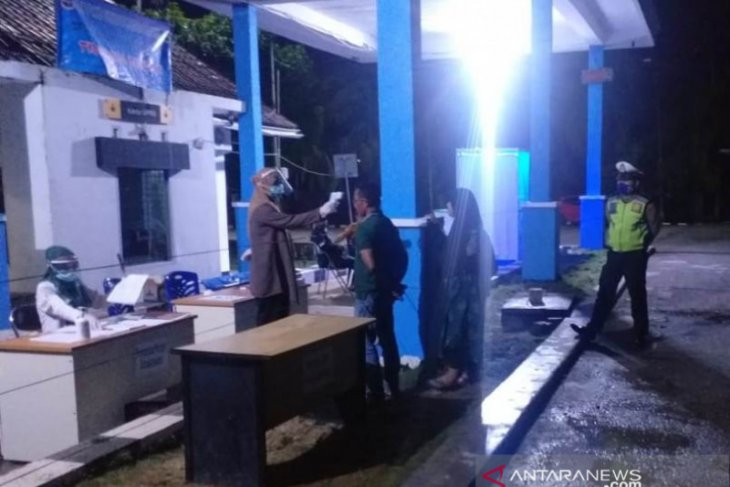 Polisi masih perketat pemeriksaan suhu tubuh di perbatasan Aceh-Sumut