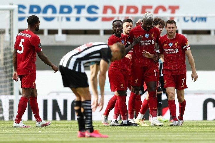 Liverpool menutup musim kalahkan Newcastle dan torehkan rekor anyar