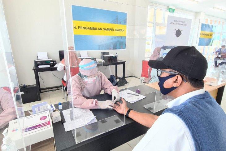 Rapid test di Bandara Syamsudin Noor Banjarmasin Rp150 ribu