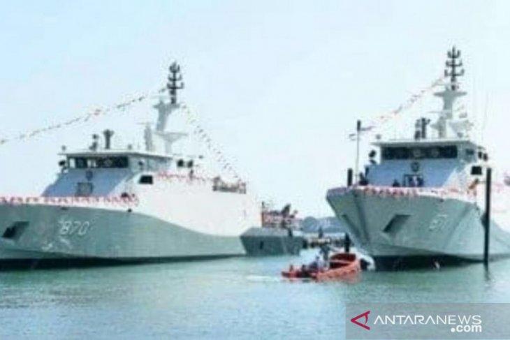 TNI AL luncurkan dua kapal perang baru patroli cepat