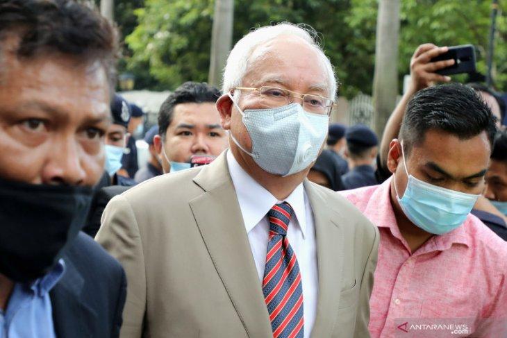 Pengadilan vonis mantan PM Malaysia Najib bersalah lakukan korupsi