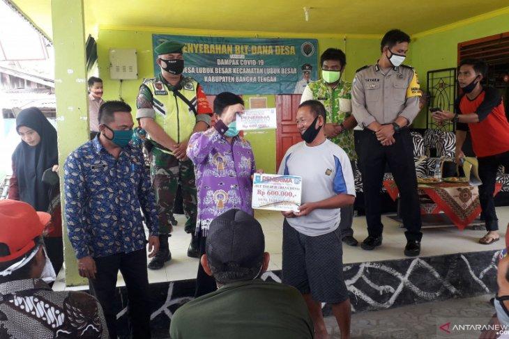 Pemerintah Kabupaten Bangka Tengah salurkan BLT di 12 desa