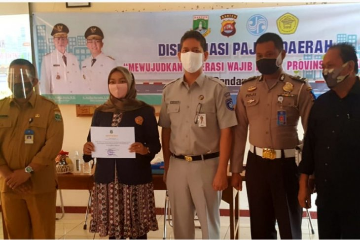 Jasa Raharja Banten Edukasi Mahasiswa STISIP Banten Raya Tentang Pajak Daerah dan SWDKLLJ
