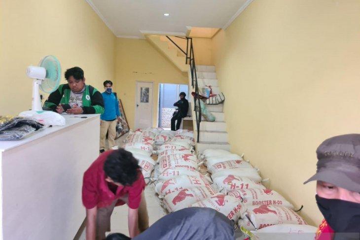 Gudang tempat penimbunan sabu ratusan KG di Tangerang baru beroperasi