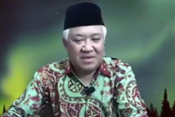 Din Syamsuddin dkk cabut perkara uji UU COVID-19