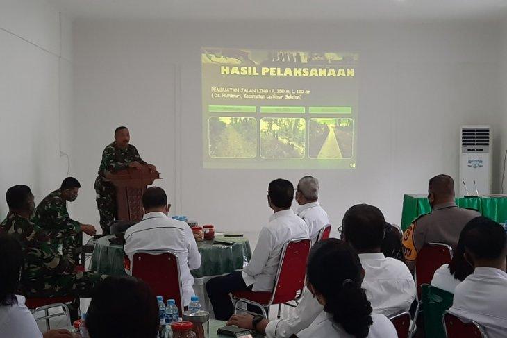 Dandim1504 Program TMMD wujud kekompakan TNI dan masyarakat