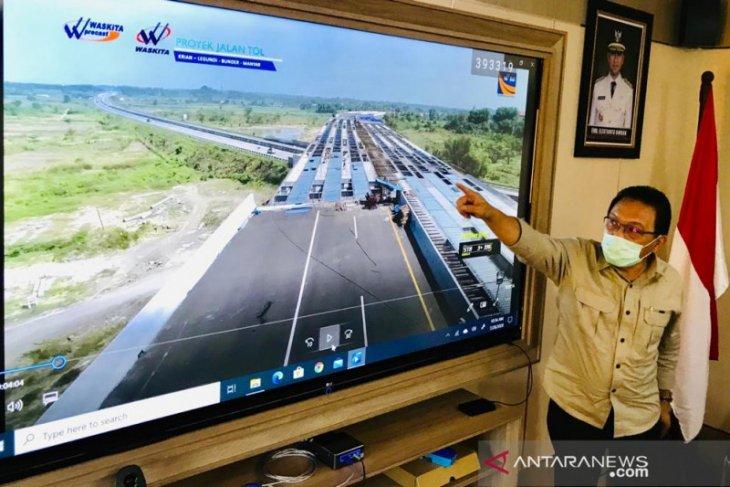 Tol Sidoarjo - Gresik siap dioperasikan akhir tahun 2020