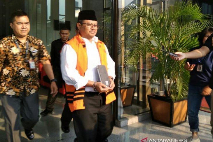KPK eksekusi mantan Bupati Indramayu Supendi ke Sukamiskin