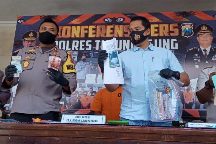 Pengusaha tambang ilegal di Tulungagung ditangkap polisi