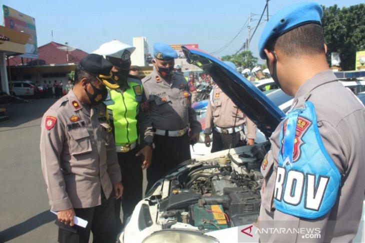 Ratusan personel Polres Sukabumi Kota siap amankan Idul Adha