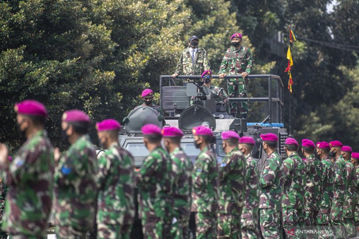 Pelibatan TNI dalam menangani terorisme perlu didukung