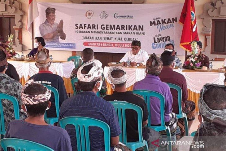 KKP dan Komisi IV DPR lakukan safari gemarikan di Gianyar-Bali