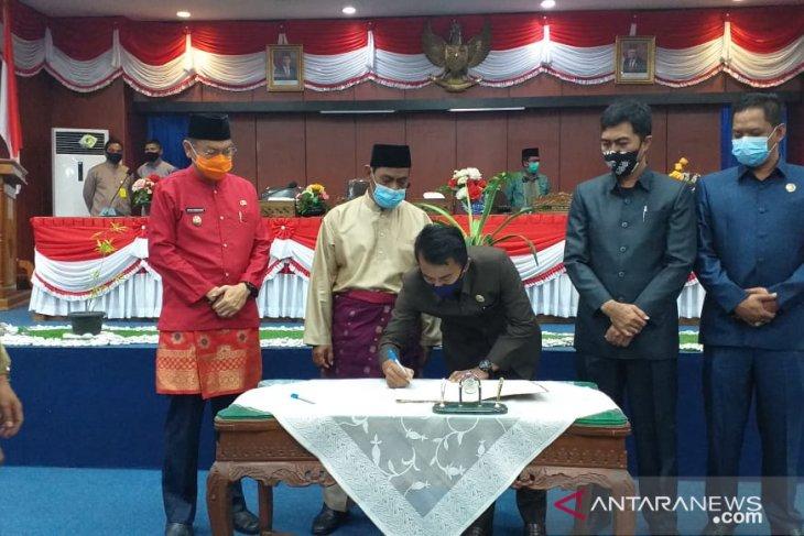 DPRD Belitung terima laporan pertanggungjawaban APBD tahun 2019
