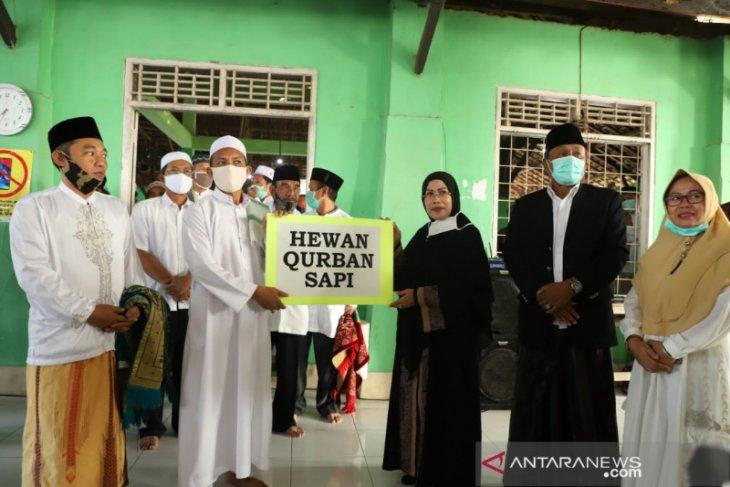Pemkab Serang salurkan puluhan hewan kurban untuk lembaga keagamaan
