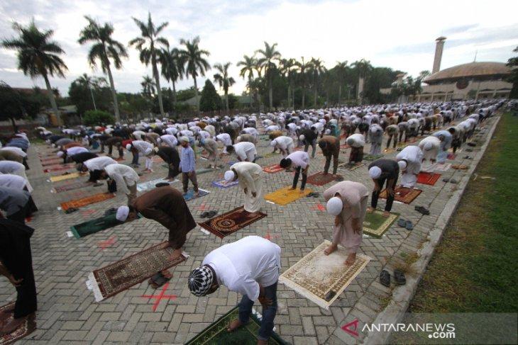 Shalat Idul Adha di Banjarmasin