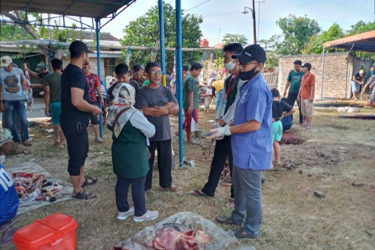 Distan Provinsi Banten pastikan pemotongan hewan kurban taat protokol kesehatan
