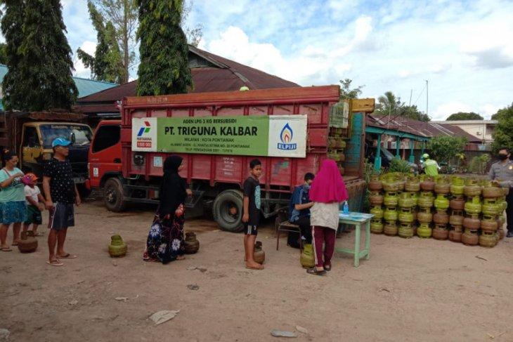 Pertamina: Operasi pasar elpiji di Pontianak mulai sepi pembeli