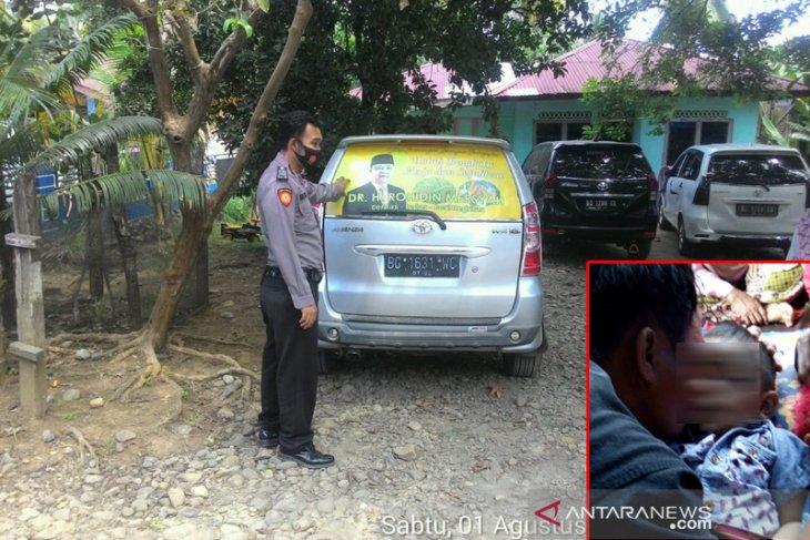 Tragis, balita tewas terlindas mobil ayahnya