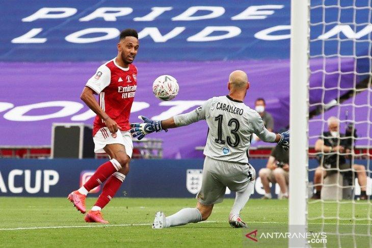 Arsenal juara Piala FA setelah tundukkan Chelsea 2-1