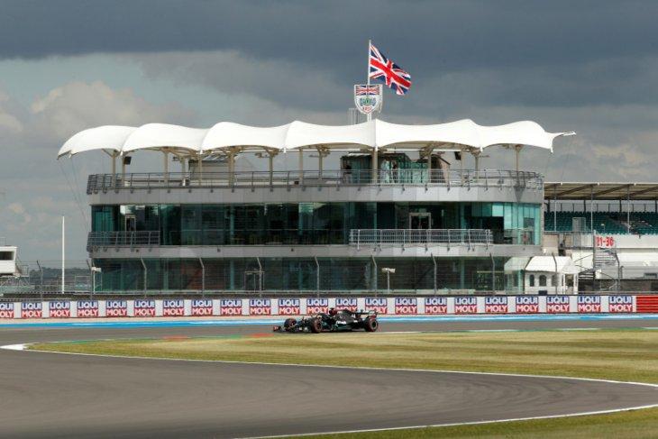 Starting grid di GP Britania