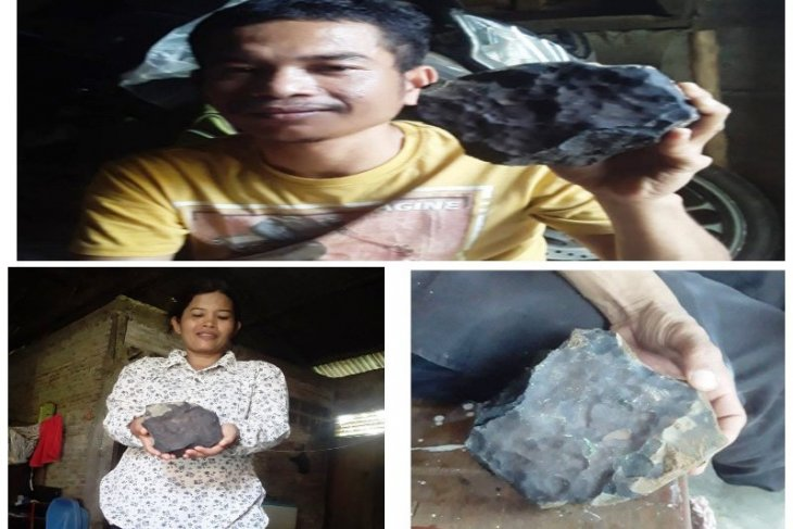 Batu hitam milik Josua yang jatuh dari langit langsung ditawar Rp200 juta