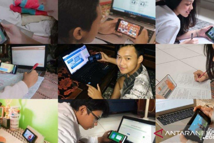 Hari ini Ruangguru kembali buka sekolah daring gratis