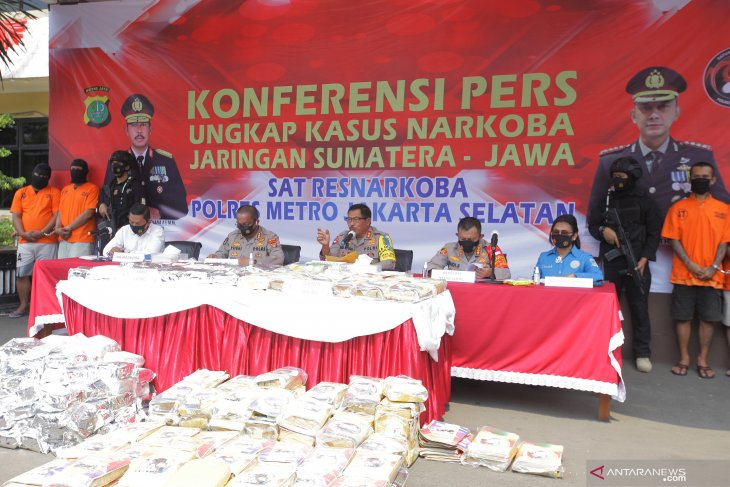 Jakarta police uncovered 2,849 drug cases during Jan-early Aug 2020