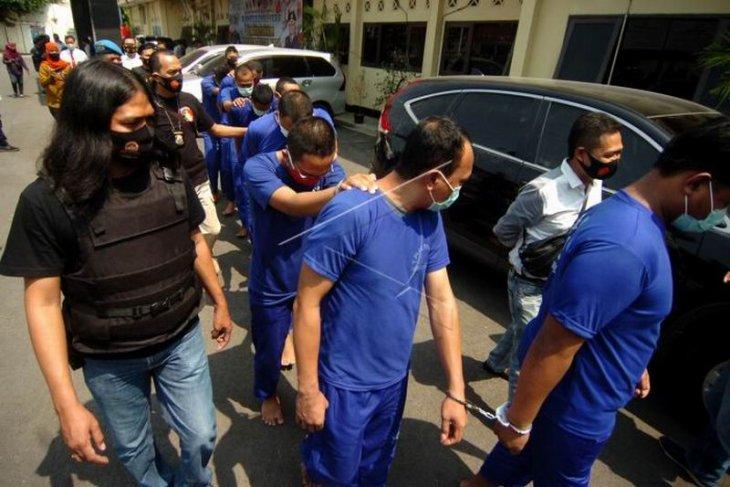 Hasil operasi jaran candi Polres Tegal Kota