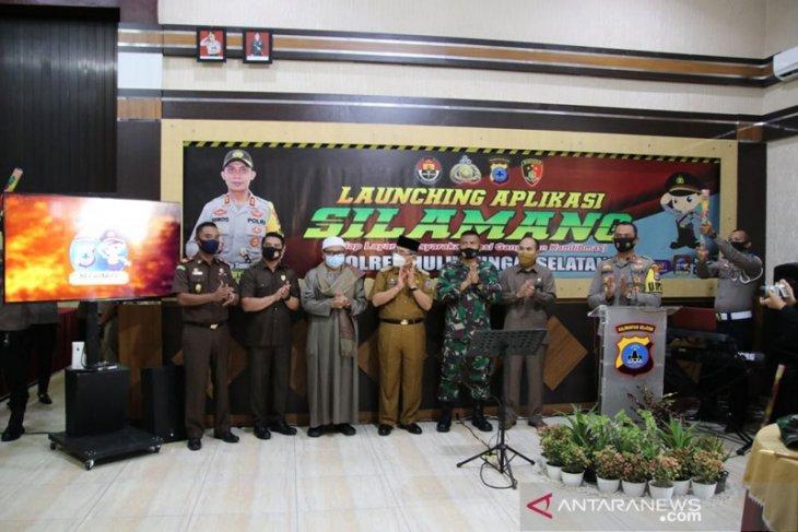 Aplikasi Si Lamang Polres HSS permudah masyarakat bila memerlukan bantuan polisi