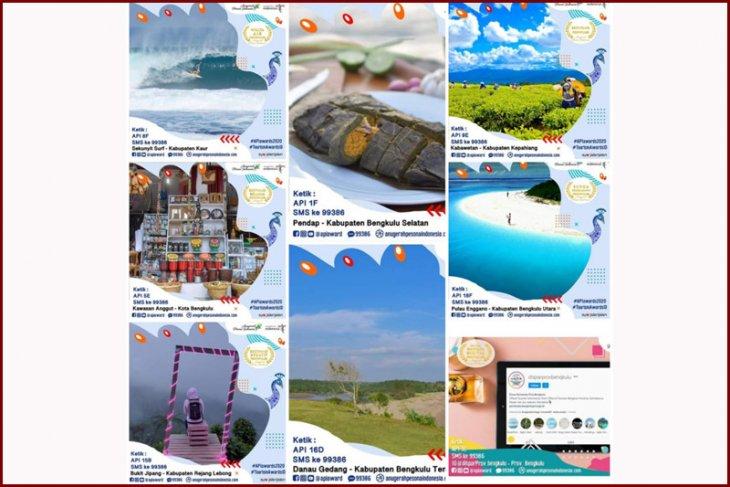 Delapan wisata Bengkulu masuk nominasi API Awards 2020