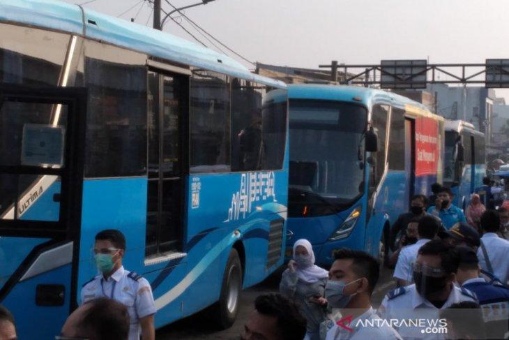 PPD ujicoba pengoperasian bus JRC rute Bogor-Jakarta pada tiga trayek