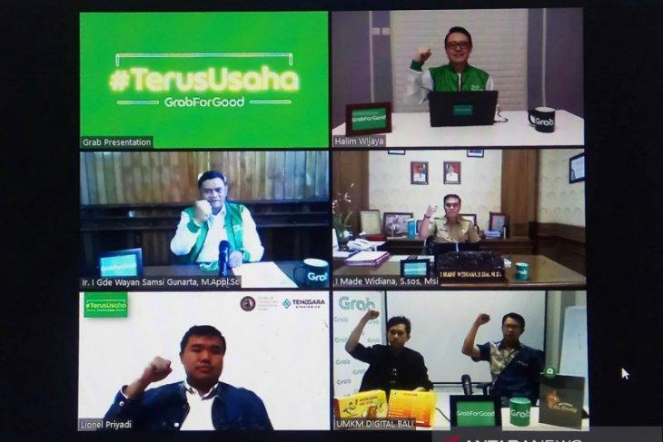 Grab luncurkan  #TerusUsaha untuk dorong Digitalisasi UMKM di Bali