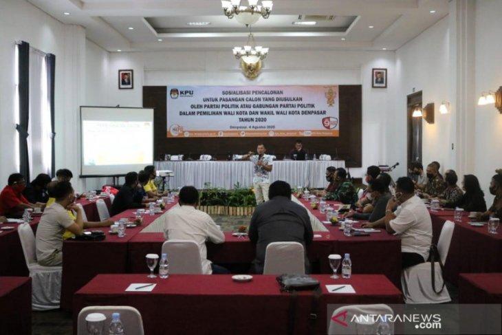 KPU Denpasar sosialisasi persyaratan peserta Pilkada 2020 dari parpol