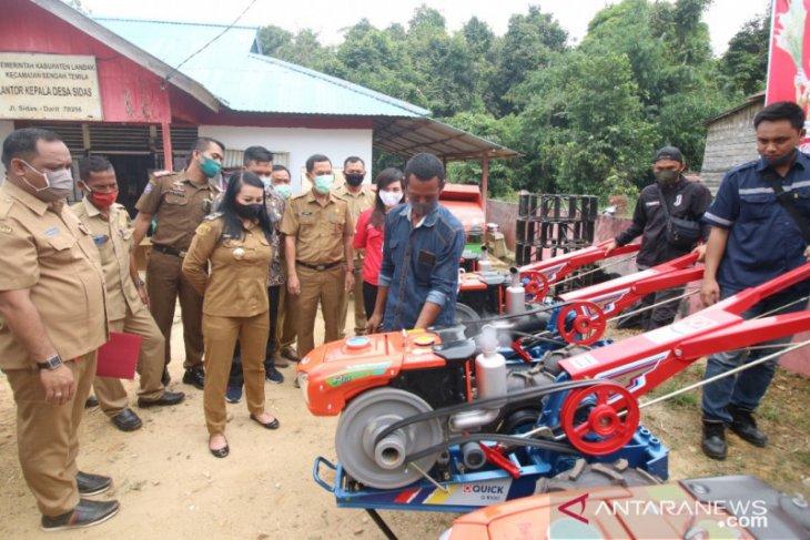 Kabupaten Landak tingkatkan kualitas sektor pertanian melalui modernisasi alat