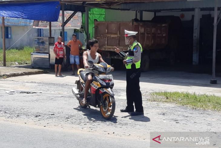 150 pengendara terjaring dalam Operasi Patuh Kapuas
